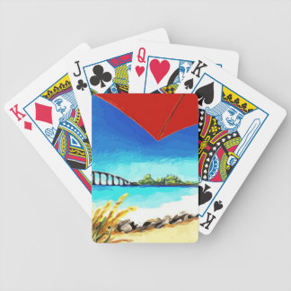 Some Beach Somewhere Bicycle Playing Cards