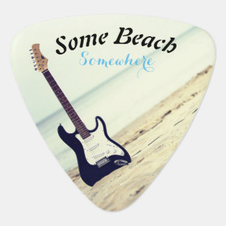 Some Beach, Somewhere Guitar Pick