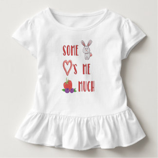 Some Bunny Loves Me Berry Much T-Shirt