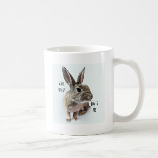 Some Bunny Loves Me Collection Rabbit Easter Coffee Mug