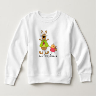 Some Bunny Loves Me. Easter Baby Sweatshirts