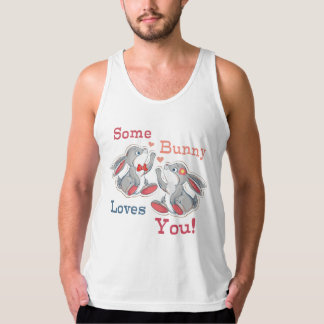 Some Bunny Loves You Singlet