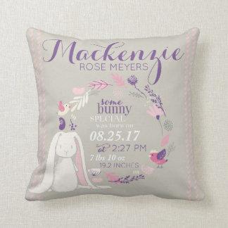 Some Bunny Special Nursery Keepsake Cushion