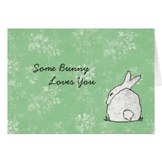 Some bunny Vday card