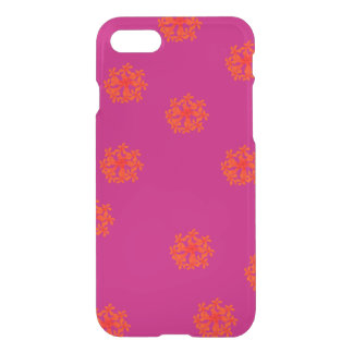 Some Crazy Happy Flowers Patternish by KCS iPhone 7 Case