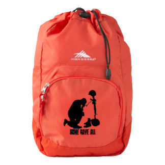 Some gave All Red High Sierra Backpack