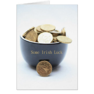 some Irish luck Card