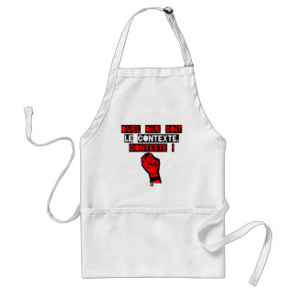 Some is the CONTEXT DISPUTES! - Word games Standard Apron