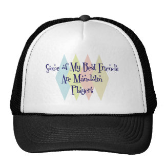 Some of My Best Friends Are Mandolin Players Mesh Hat