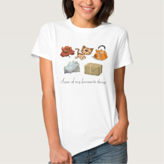 Some of my favourite things tshirt