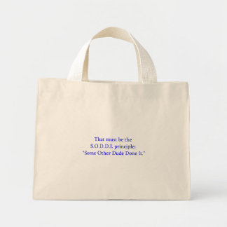 Some other Dude Judge Tote Mini Tote Bag