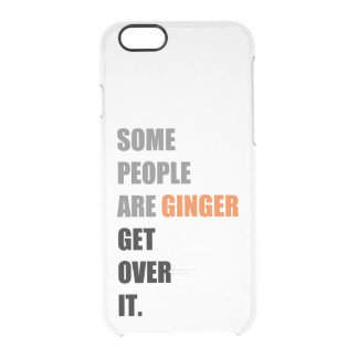 Some People are Ginger iPhone 6 Case