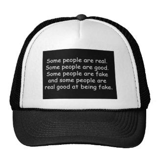 Some people are good fake insults attitude truisms cap