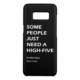 Some People Just Need A High Five Sarcastic Case-Mate Samsung Galaxy S8 Case