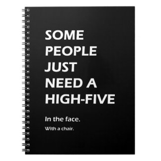 Some People Just Need A High Five Sarcastic Notebooks