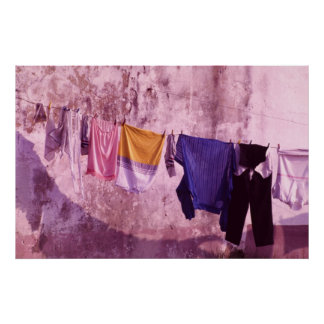 Some Portuguese laundry Poster