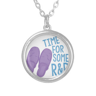 Some R&R Silver Plated Necklace