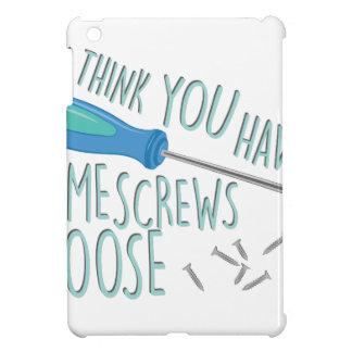 Some Screws Loose iPad Mini Cover
