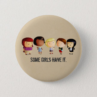 Some Subculture Girls 6 Cm Round Badge