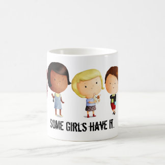 Some Subculture Girls Basic White Mug