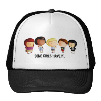 Some Subculture Girls Trucker Hat