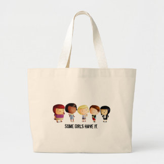 Some Subculture Girls Jumbo Tote Bag