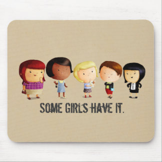 Some Subculture Girls Mouse Pad