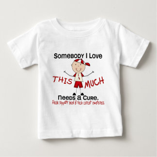 Somebody I Love - Head and Neck Cancer (Boy) Baby T-Shirt