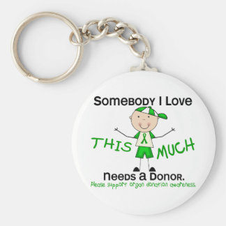 Somebody I Love - Organ Donation (Boy) Key Ring