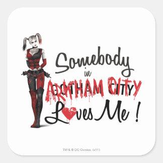 Somebody in AC Loves Me - Harley Square Sticker