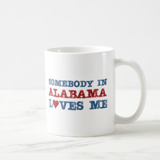 Somebody In Alabama Loves Me Coffee Mug