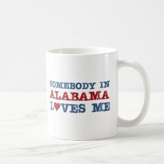 Somebody In Alabama Loves Me Mug