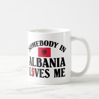 Somebody In Albania Coffee Mug