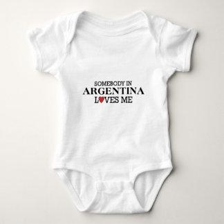 Somebody In Argentina Baby Bodysuit