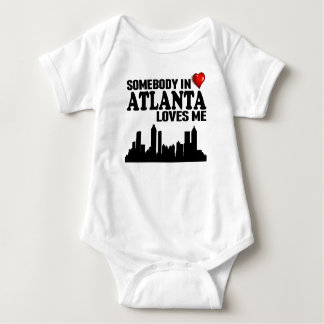Somebody In Atlanta Loves Me Baby Bodysuit