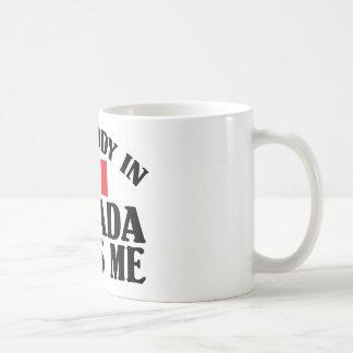 Somebody In Canada Coffee Mug