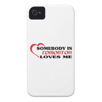 Somebody in Edmonton loves me iPhone 4 Cover