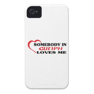 Somebody in Guelph loves me Case-Mate iPhone 4 Cases