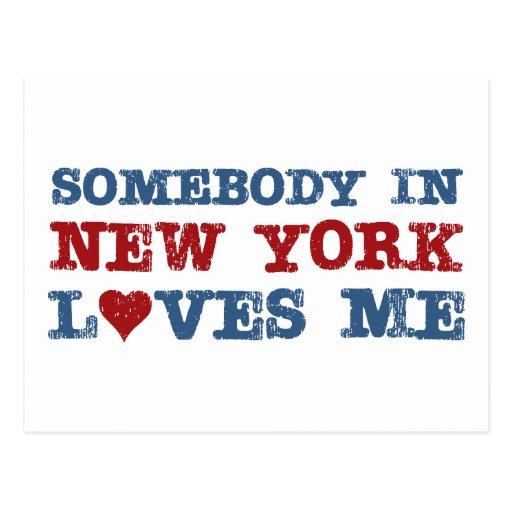 Somebody in New York Loves Me Post Cards