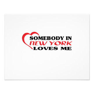 Somebody in New York Loves Me shirts Custom Announcement