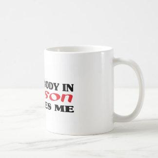 Somebody in Wilson loves me t shirt Mug