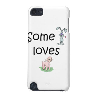 Somebunny Loves Ewe (pics) iPod Touch (5th Generation) Case
