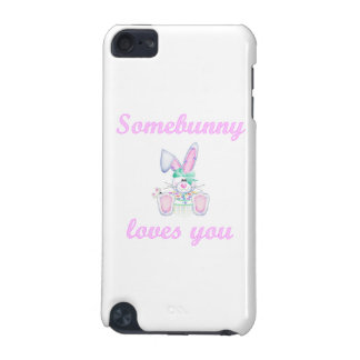 Somebunny Loves You (girl bunny) iPod Touch (5th Generation) Cover
