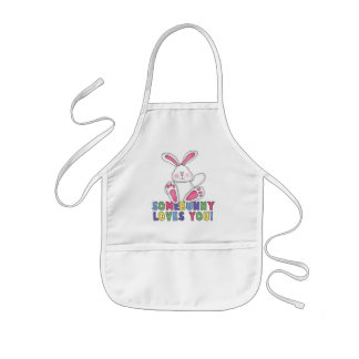 SomeBunny Loves You Kids Apron