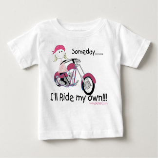 Someday I'll Ride My Own (Infant T-Shirt) Baby T-Shirt