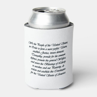 Somehow Forgotten July 4th Beverage Can Cooler
