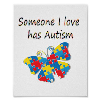 Someone I love has autism (multi) Poster