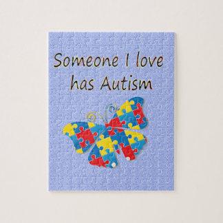 Someone I love has autism (multi) Puzzles