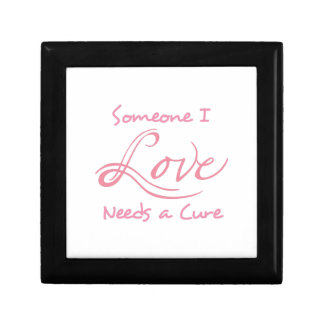 Someone I Love Needs A Cure Jewelry Boxes