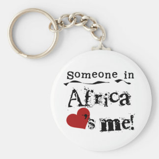 Someone In Africa Loves Me Keychains